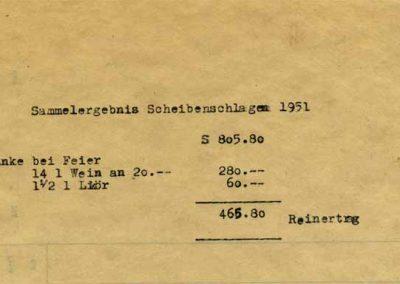 Kameradschaftspflege - 1951
