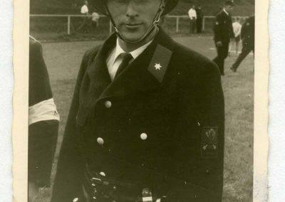 Lorenz Gebhard vor dem Angriff