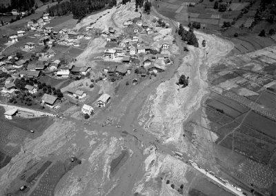 Luftbild Pettneu - 1965/01