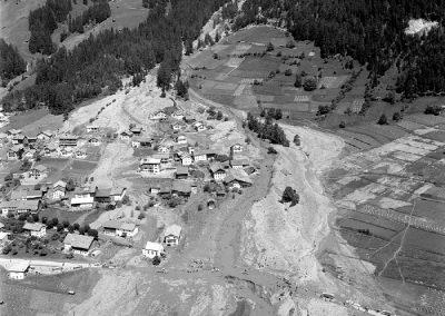 Luftbild Pettneu - 1965/02