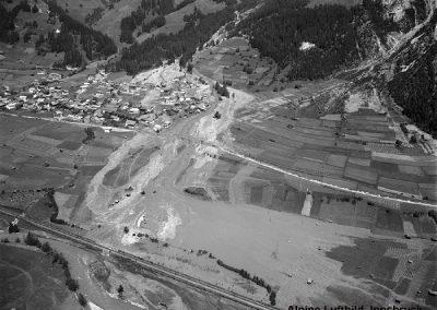Luftbild Pettneu - 1965/03