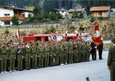Wissenstest der Feuerwehrjugend in Pettneu