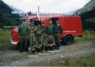 Feuerwehrjugendzeltlager in Prutz