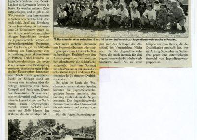 Bez. Jugendzeltlager in Pettneu