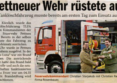 Bericht über das neue TLF