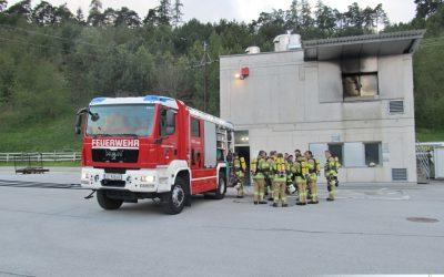 Brandhaus Workshop an der LFS in Telfs