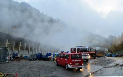 Rauchentwicklung im Arlbergstraßentunnel