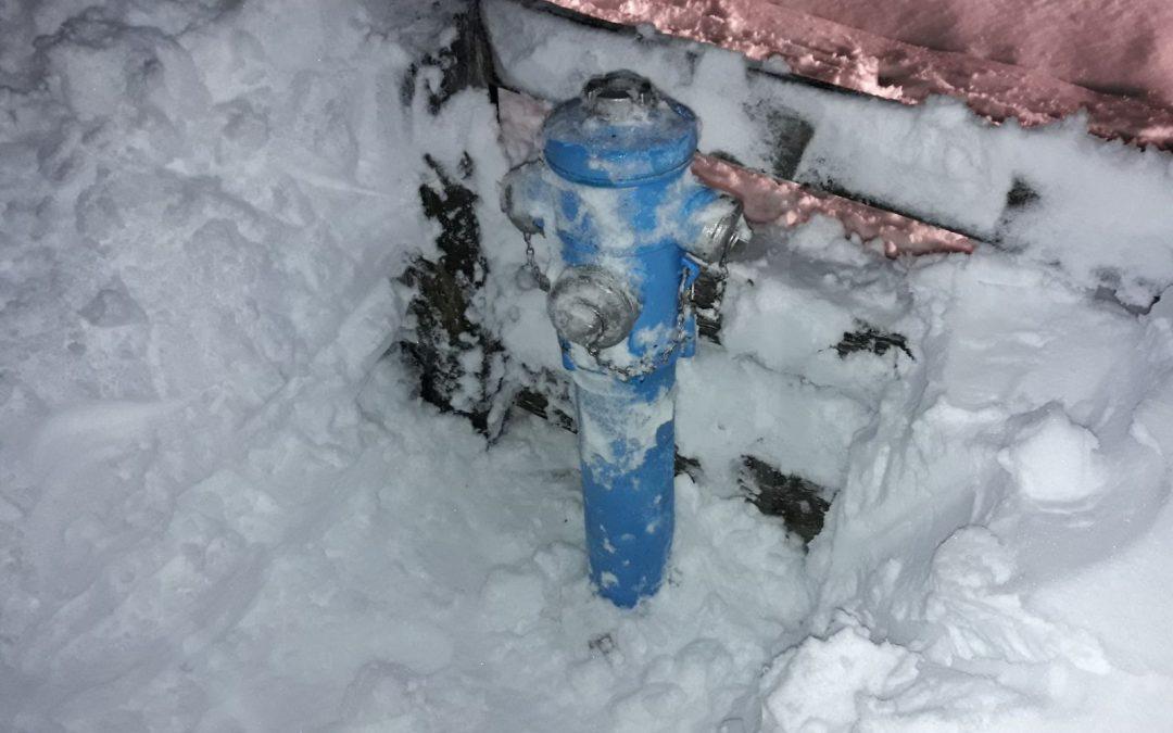 Hydranten freimachen