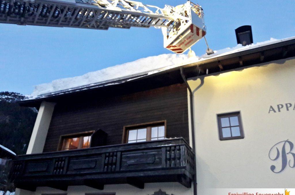 Dach abschaufeln