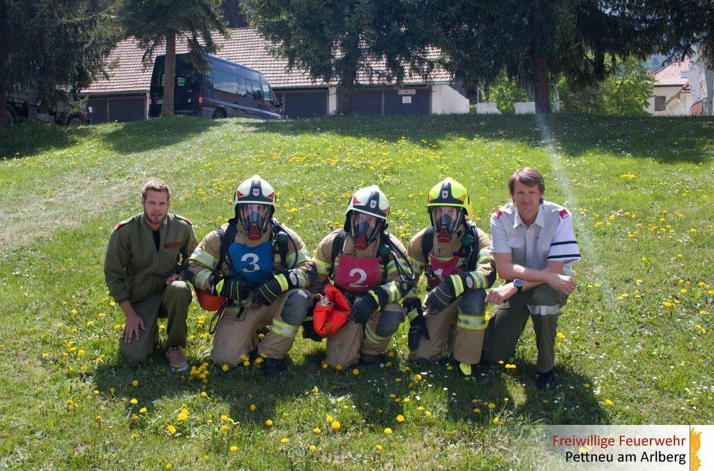Atemschutzleistungsprüfung Bezirk Landeck