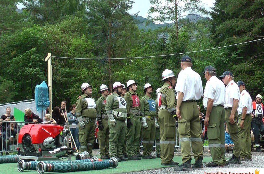 34. Nassbewerb des Bezirkes Bludenz in Bings-Stallehr