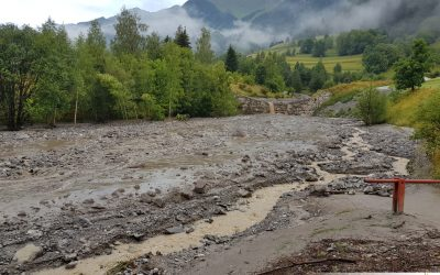 Murenabgang Gridlontobel und Zeinsbach