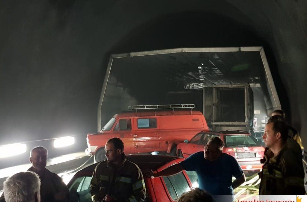 Tunnelweiterbildung in Lungern