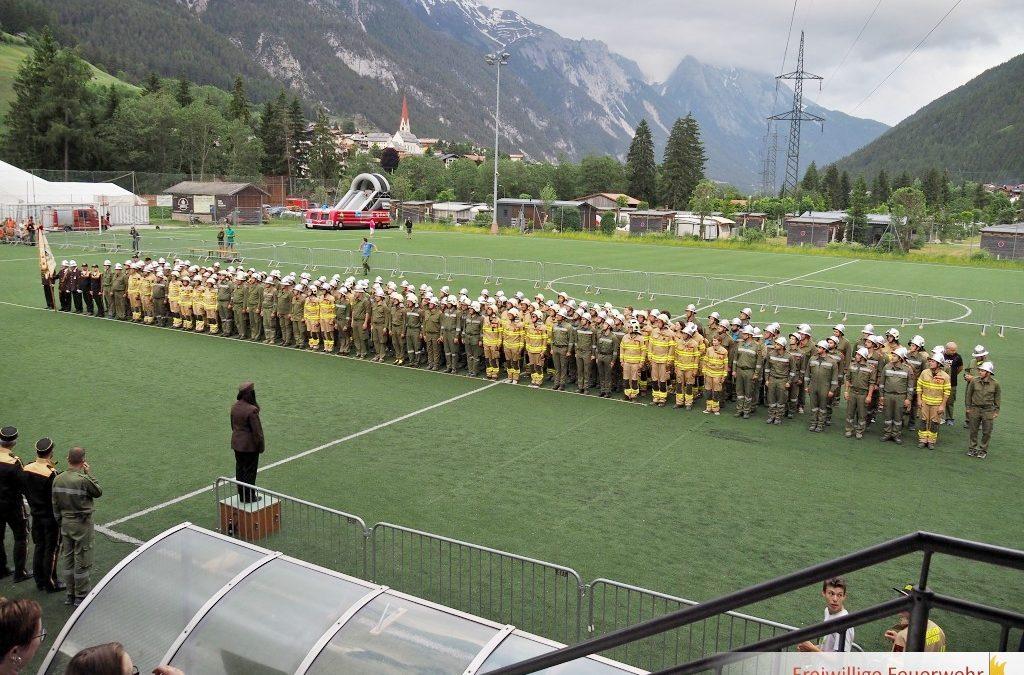 36. Bezirks-Nassleistungsbewerb und Feuerwehrjugend Teambewerb in Pettneu