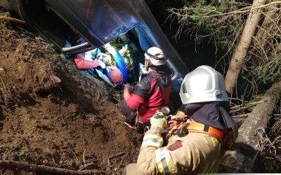 Gemeinschaftsübung Bergrettung und Feuerwehr