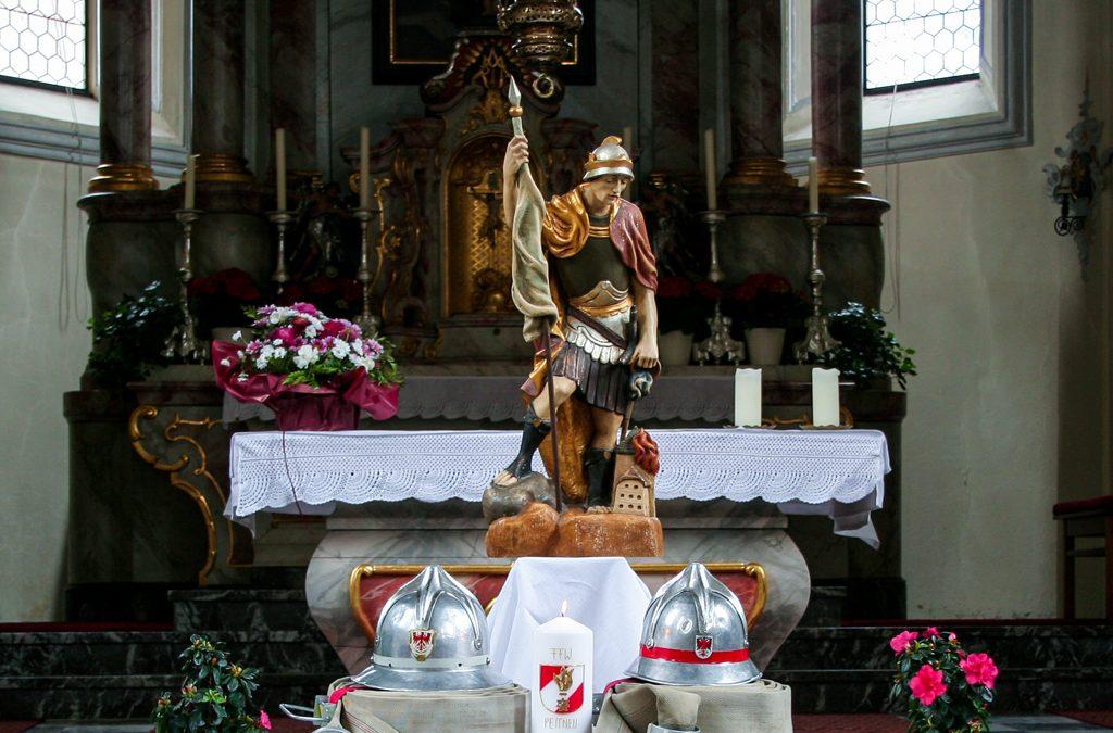Der Heilige Florian – Schutzpatron der Feuerwehr