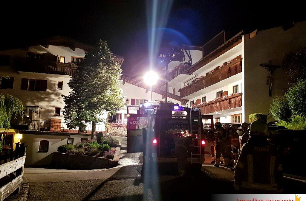 Rauchentwicklung Hotel Gridlon
